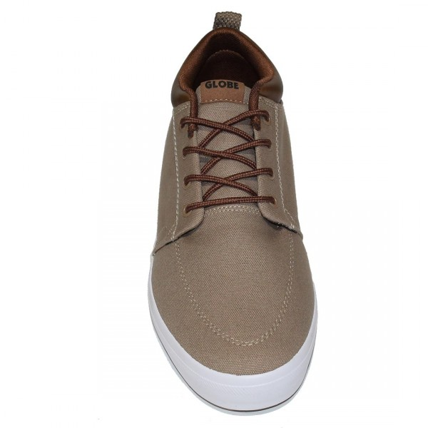 Woodsmoke Brown Globe GS Chukka Sneaker Little Boy/'s Size 1